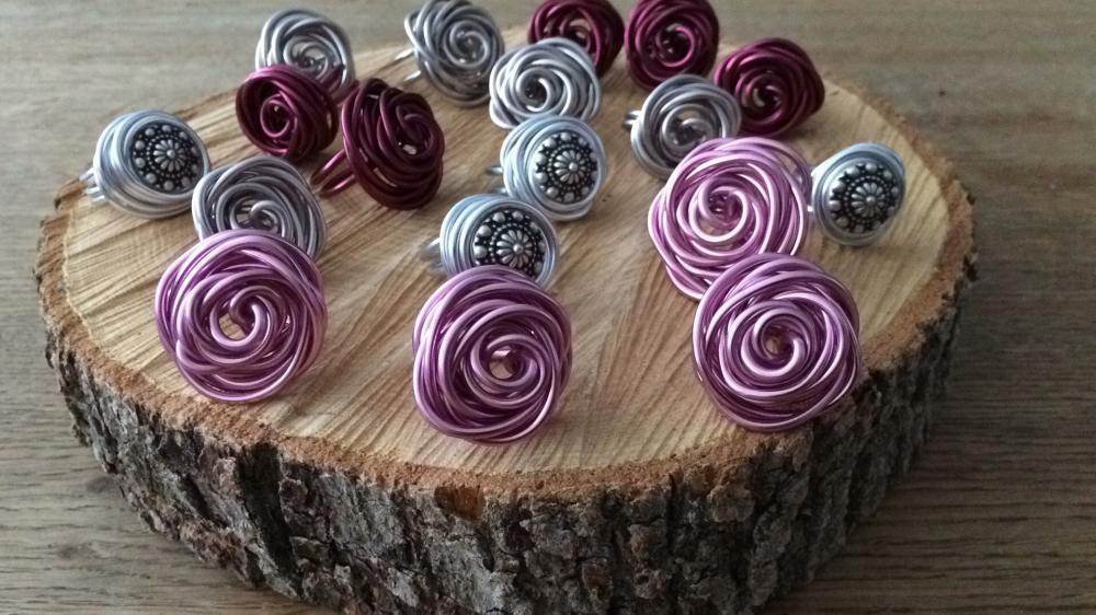 Aluminium wire ring roos